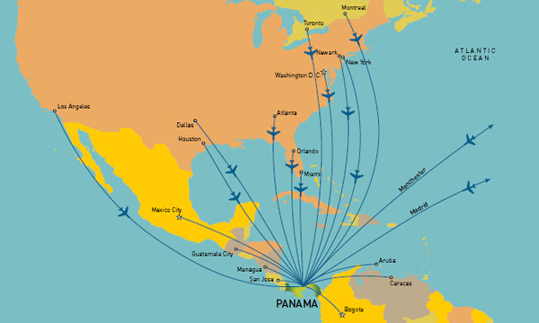 how to get to central america