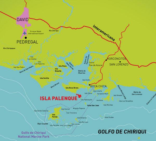 Visit Central America, Panama, Gulf of Chiriqui
